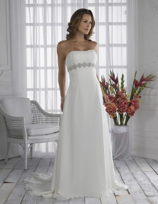 Simple  best Wedding Dresses images on Pinterest Wedding dressses Marriage and Empire wedding dresses