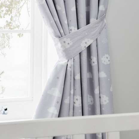 Sweet Dreams Blackout Pencil Pleat Curtains New House