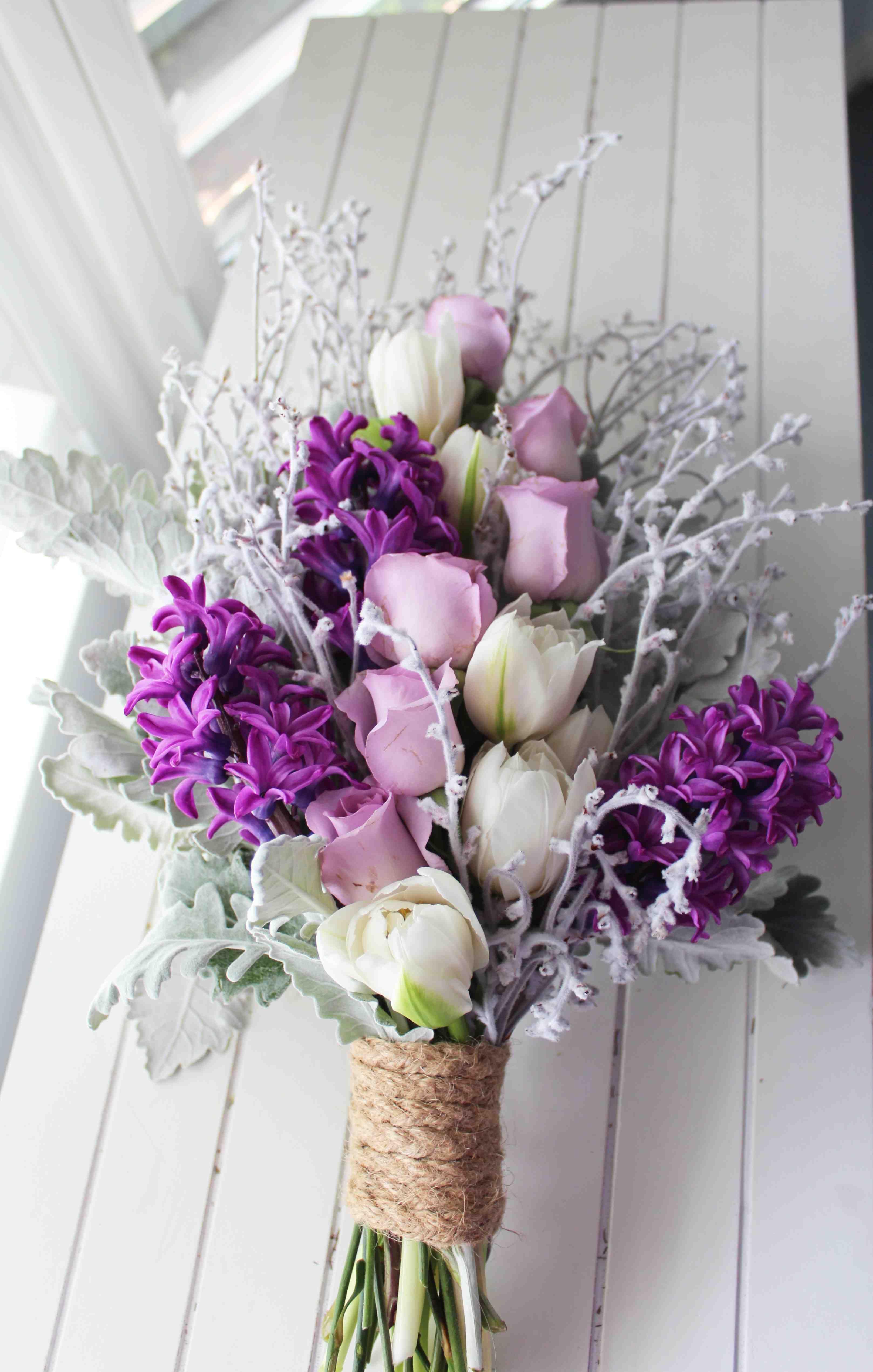 Purple wedding bouquet kelleigh dodds yaay im going to start purple wedding bouquet kelleigh dodds yaay im going to izmirmasajfo
