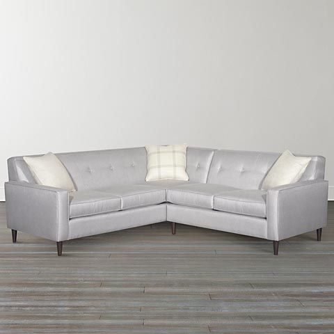 Excellent L Shaped Sectional From Benchmark Furniture Furniture Frankydiablos Diy Chair Ideas Frankydiabloscom