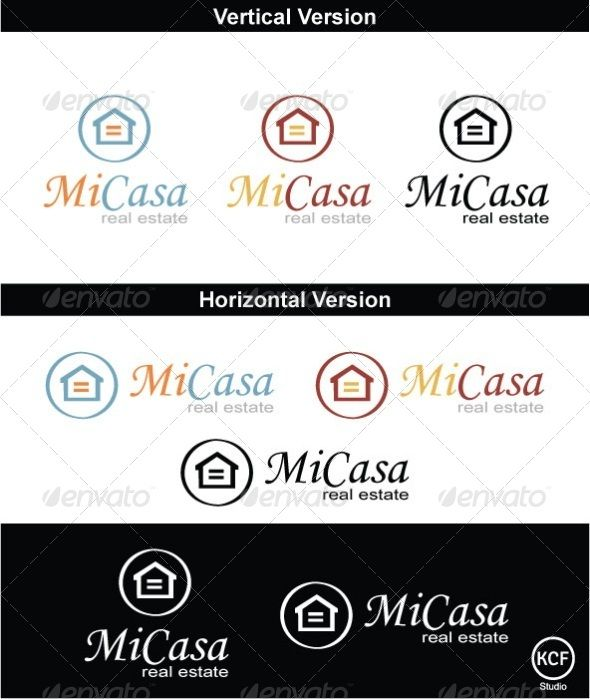 Mi Casa Logo Design Logos Design Real Estate Logo Design