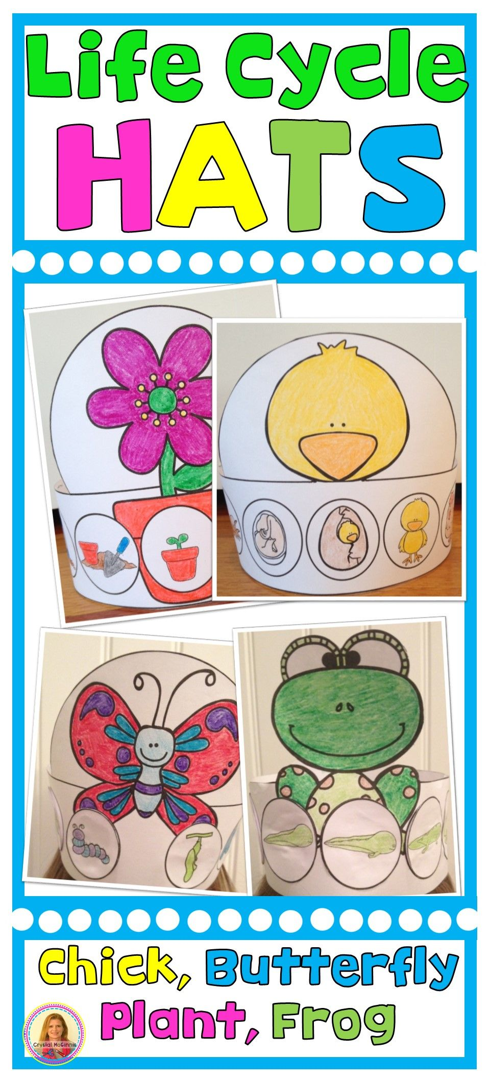 Life Cycle Of A Frog Chicken Butterfly Plant Hats Sequencing Bundle Life Cycles Kindergarten Plant Life Cycles Kindergarten Life Cycles Preschool [ 2112 x 960 Pixel ]