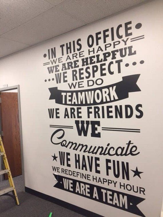 Do not buy need a custom office or home large decal etsy