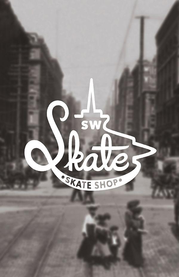 SW Skate skate shop | branding on Behance