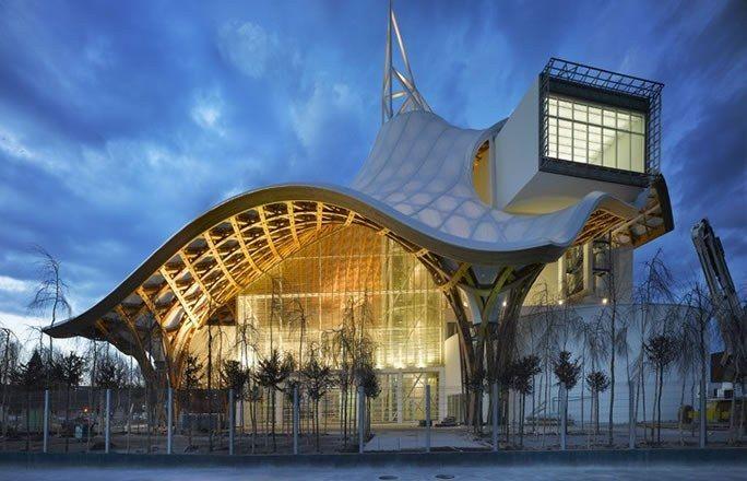 mus e d 39 art contemporain shigeru ban jean de gastines