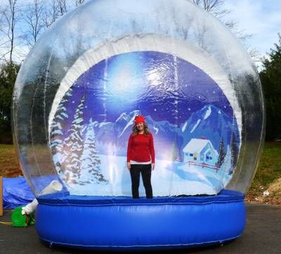 Step Into A New World In Our Human Snow Globe Choose From Several