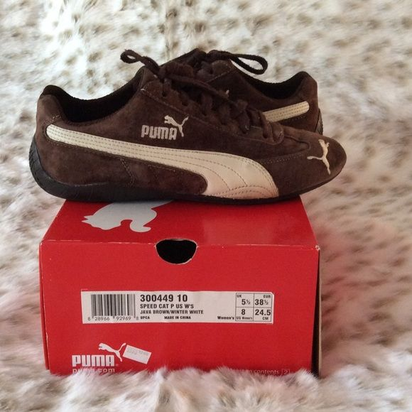 check-out 1a73c adafa Puma Speedcat Suede Sneakers Like new gently worn suede Puma ...