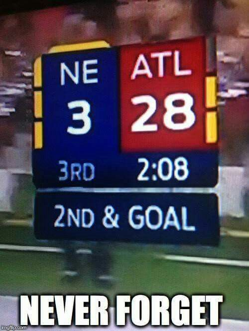 Ne 3 Atl 28 Ne 34 Atl 28 The Greatest Comeback In Super Bowl History Patriots Football Team Patriots Memes New England Patriots Football