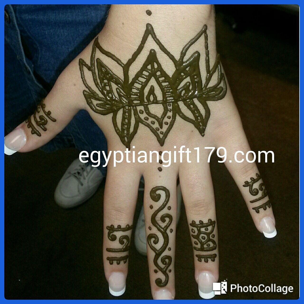 Egyptian gift corner henna shop tattoos henna