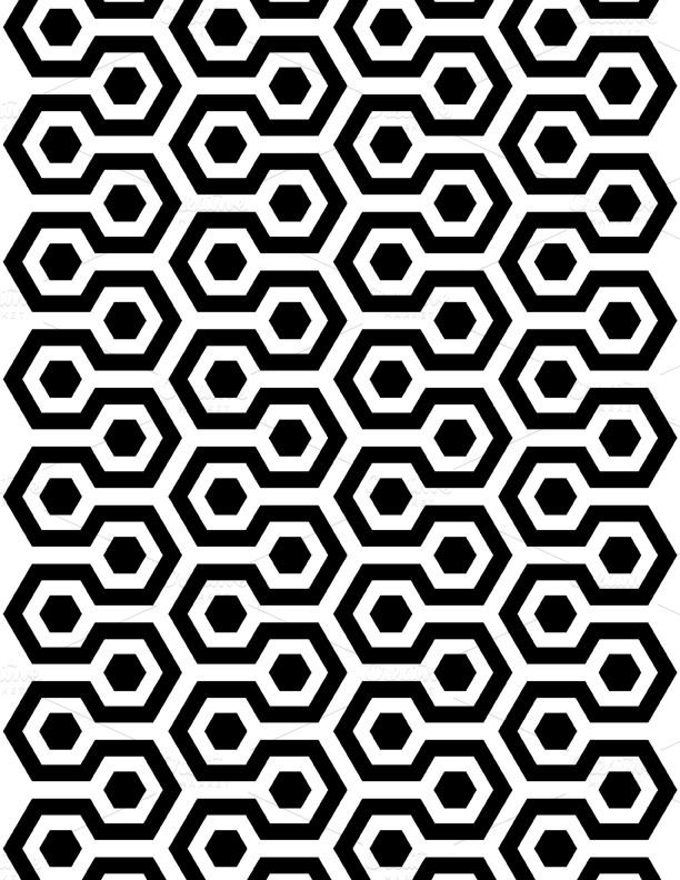 Paper Black White Background Pattern Geometric Tattoo Pattern