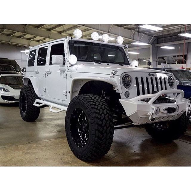 Jeep Wrangler Unlimited White