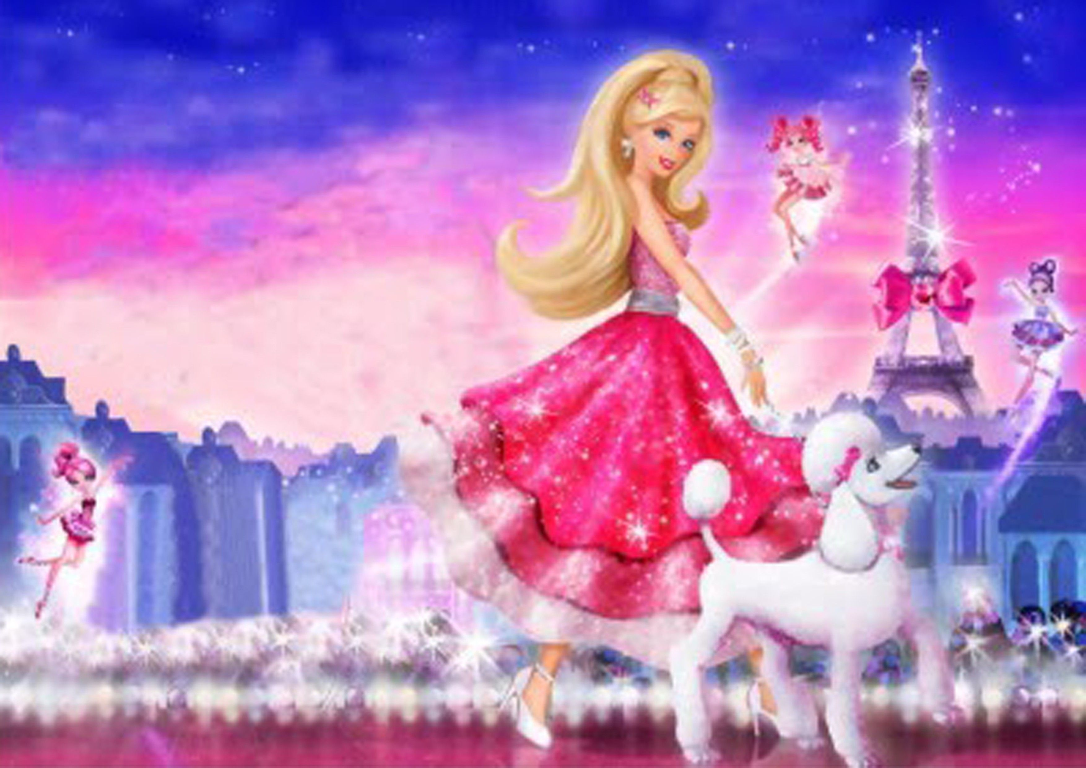 Gallery for barbie wallpaper background color pinterest gallery for barbie wallpaper background voltagebd Images