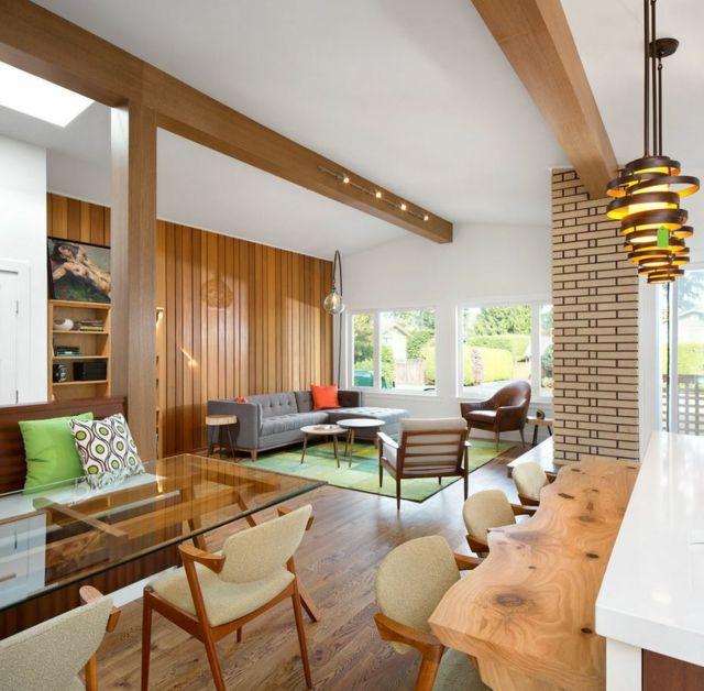 aprs la complte rnovation maison un sjour lumineux et spacieux - Renovation Sejour Salle A Manger