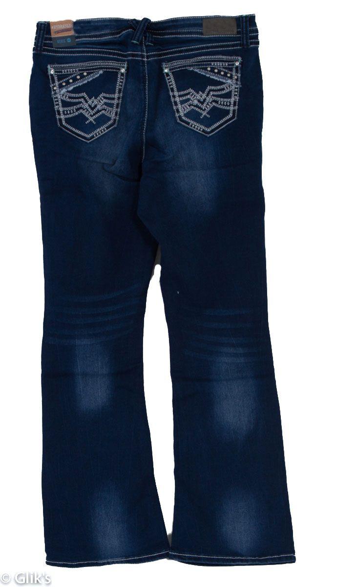 09aec5f1200 Hydraulic Jeans Plus Size Bootcut Lola Medium Wash
