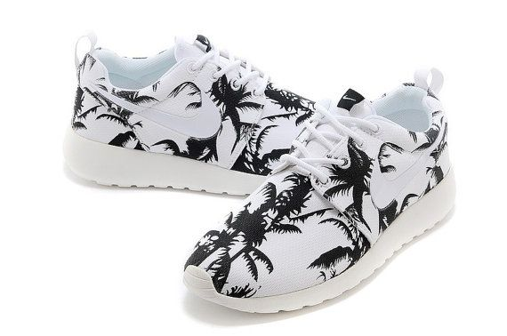 huge selection of 1338b 9024d ... custom Nike Roshe run palm trees by stylingshoes on Etsy
