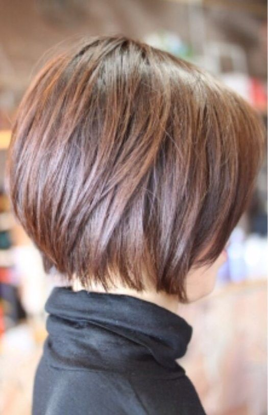 40 Cute And Easy To Style Short Layered Hairstyles Hairstyle Inspirations For 2020 Short Bob Hairstyles Thick Hair Styles Short Hair With Layers