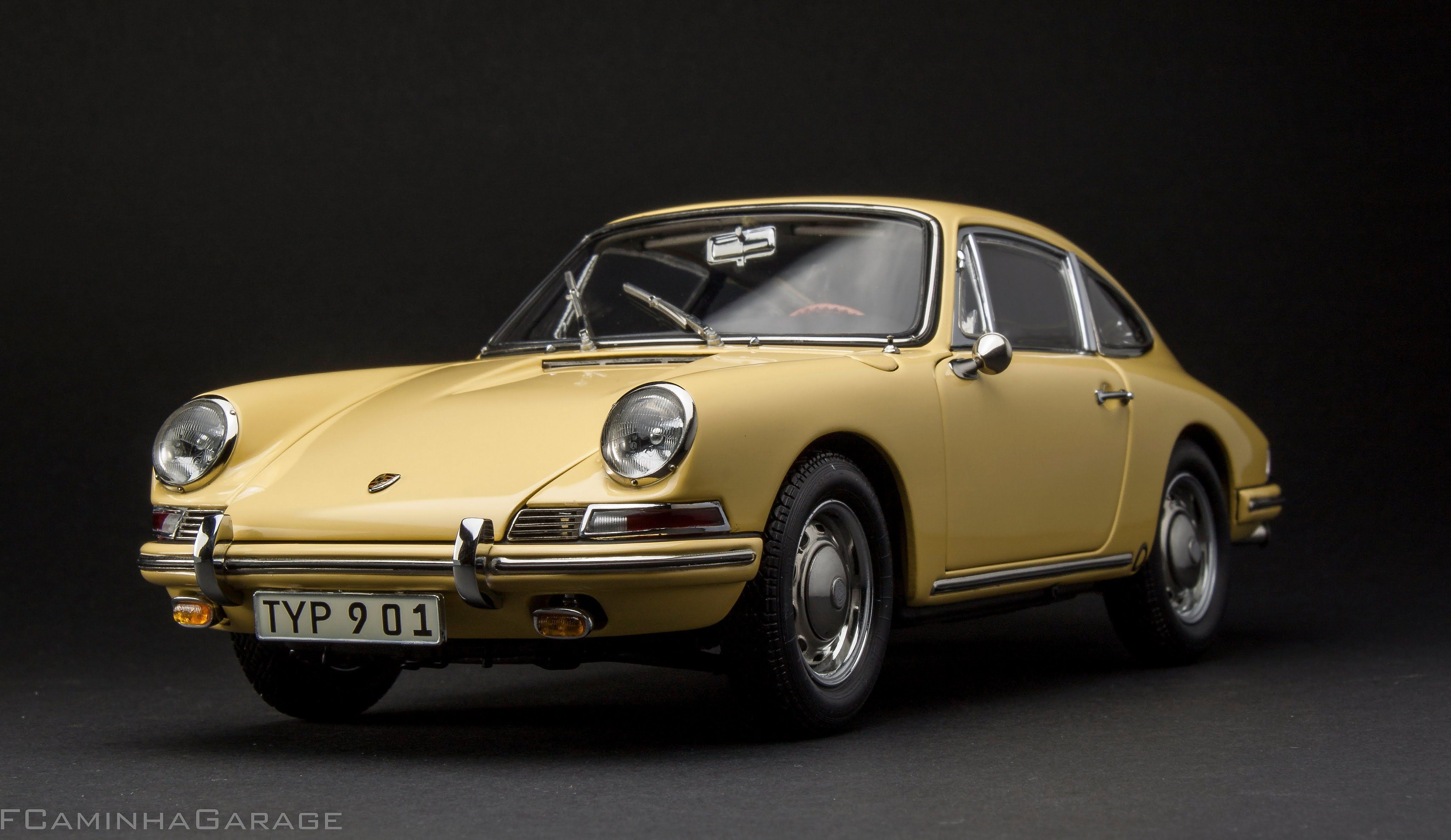 Porsche Type 901 Fcaminhagarage 1 18 1964 In 1973 912 Coupe Of Engine Champagne Yellow Le 5000 By Cmc The End 50s Had Started Development