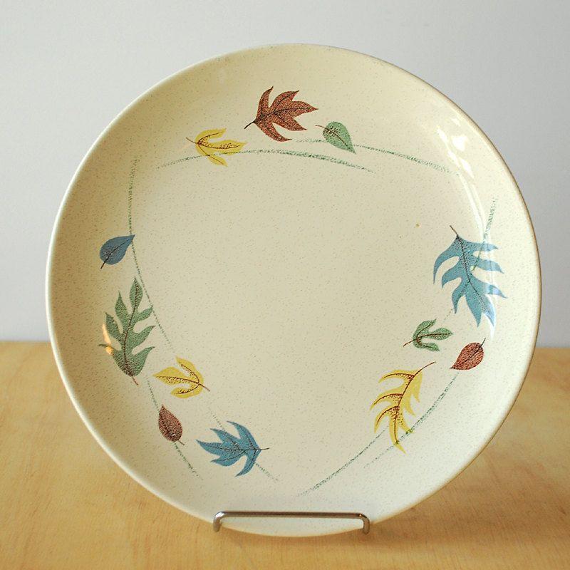Franciscan Ware Autumn Leaves Dinner Plate. $10.00, via Etsy ...