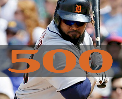 9242013 Prince Fielder played in his 500th consecutive