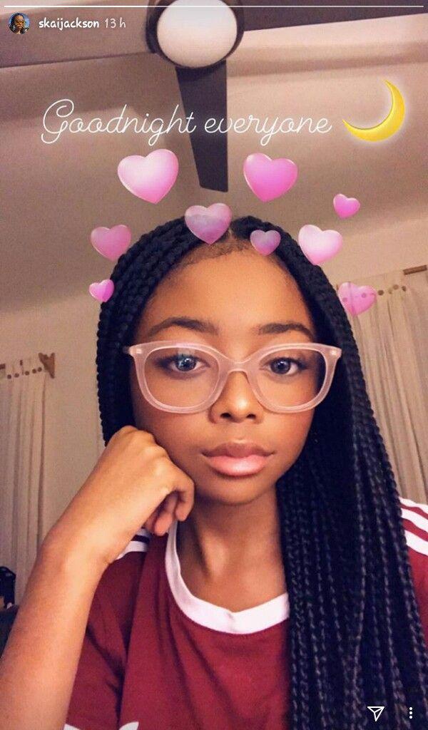 Skaijackson Baddie In 2019 Black Girl Braids Braids