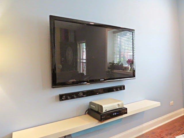 how to hide your television and cable wires an easy diy rh pinterest com