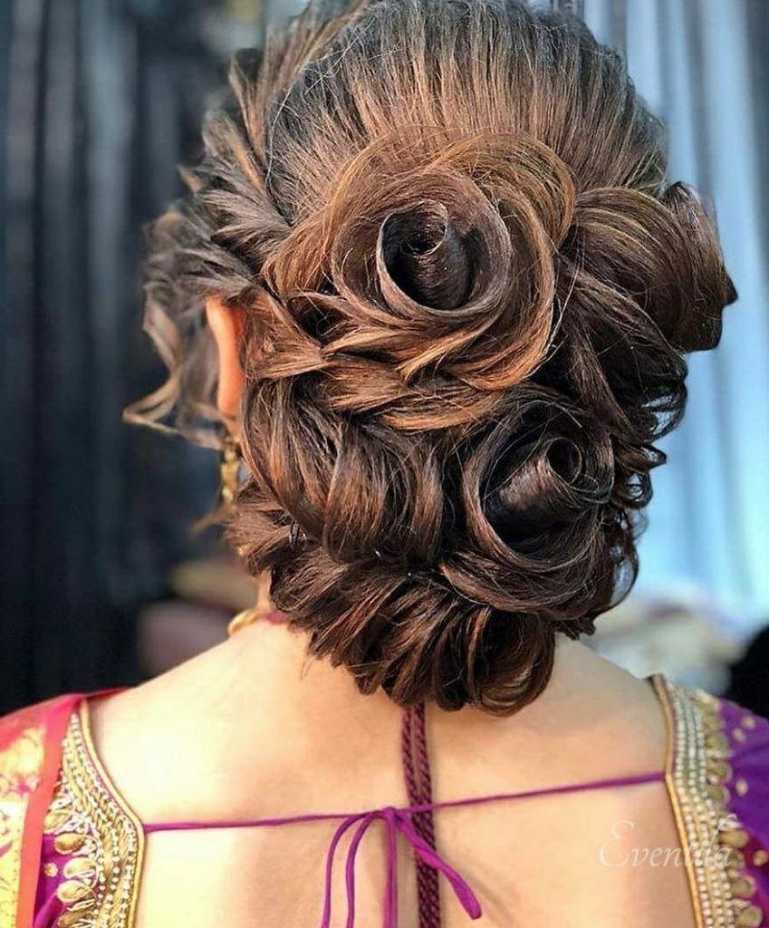 25+ Pre-Wedding Hairstyles for Mehndi Haldi or more functions! | Indian wedding hairstyles ...