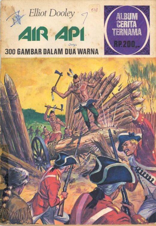 Album Cerita Ternama Air Api Elliot Dooley Di 2021 Buku Komik Komik Anak Komik