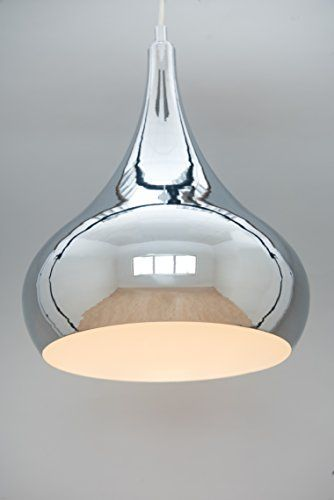 Modern Designer Teardrop Ceiling Pendant Light Chrome Https