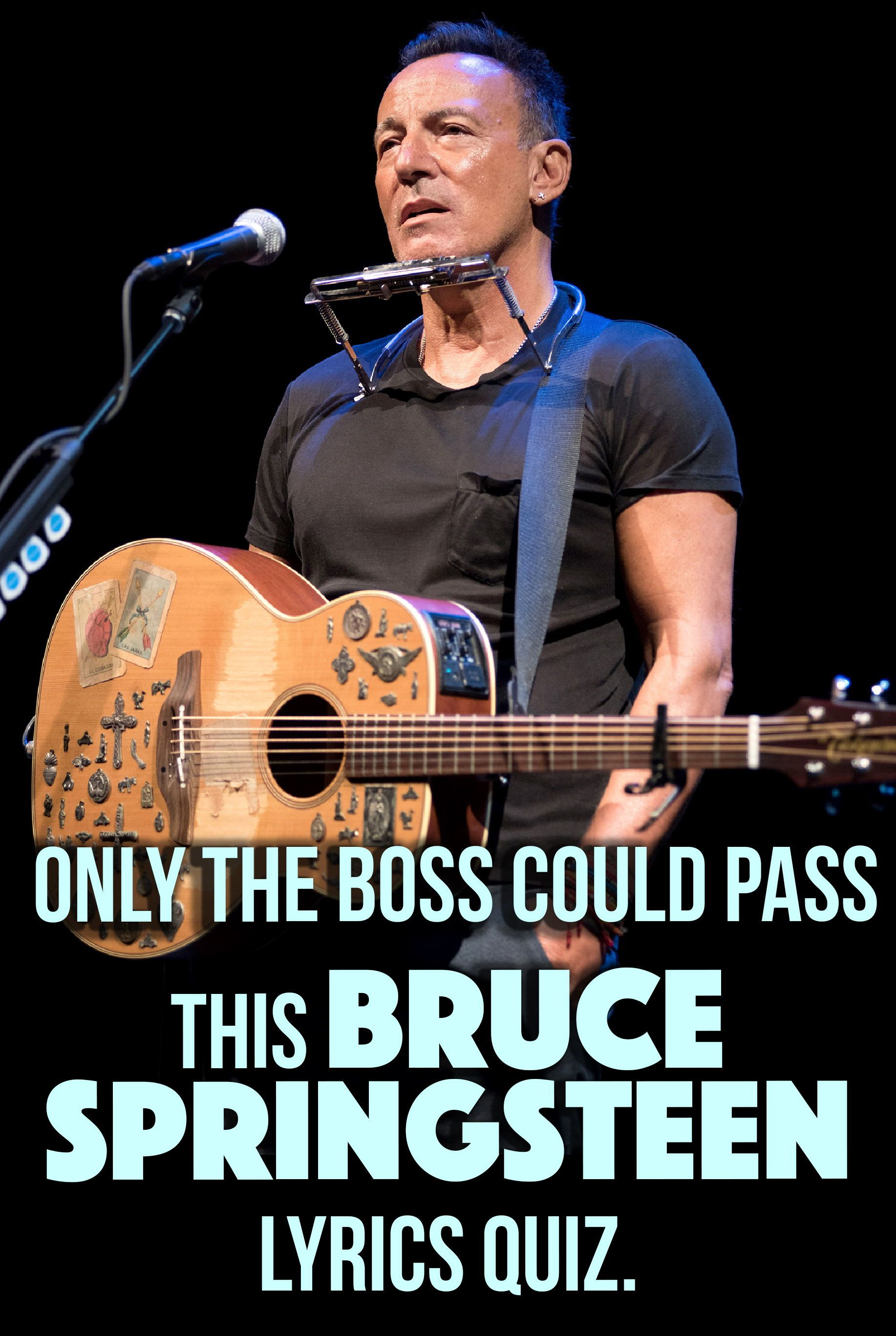 Quiz Can You Finish The Lyrics To All Of These Bruce