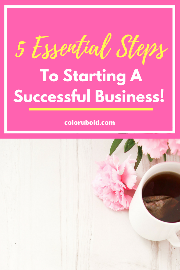 5 Steps You Can Take This Week To Finally Start Your Business