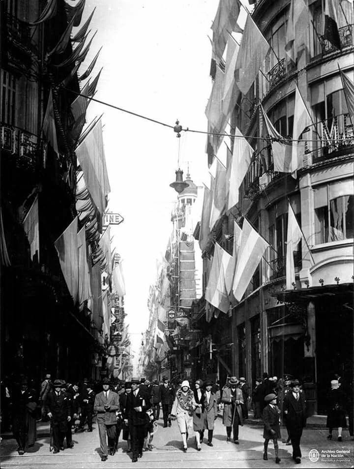 Calle Florida Buenos Aires Julio De 1927 Documentos