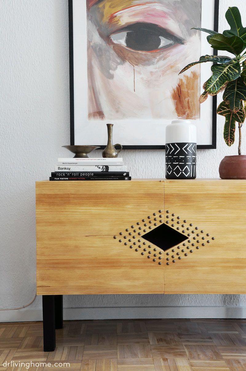 Easy diy tv stand: designer inspired diy tv stand - Dr. Livinghome ...