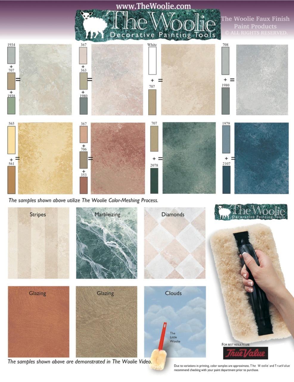 Faux Finish Paint Ideas Part - 28: True Value Paint. Faux Finish Paint Color Combinations, Ideas, Samples And  Videos.