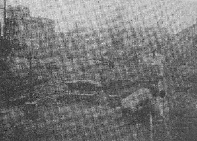 Lima Plaza San Martín en construcción 19210618