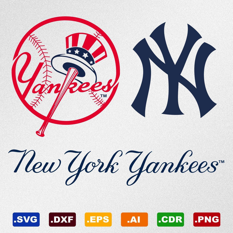 Newyorkyankeessvg Yankeessvg Newyorkyankees New York Yankees Svg Cricut