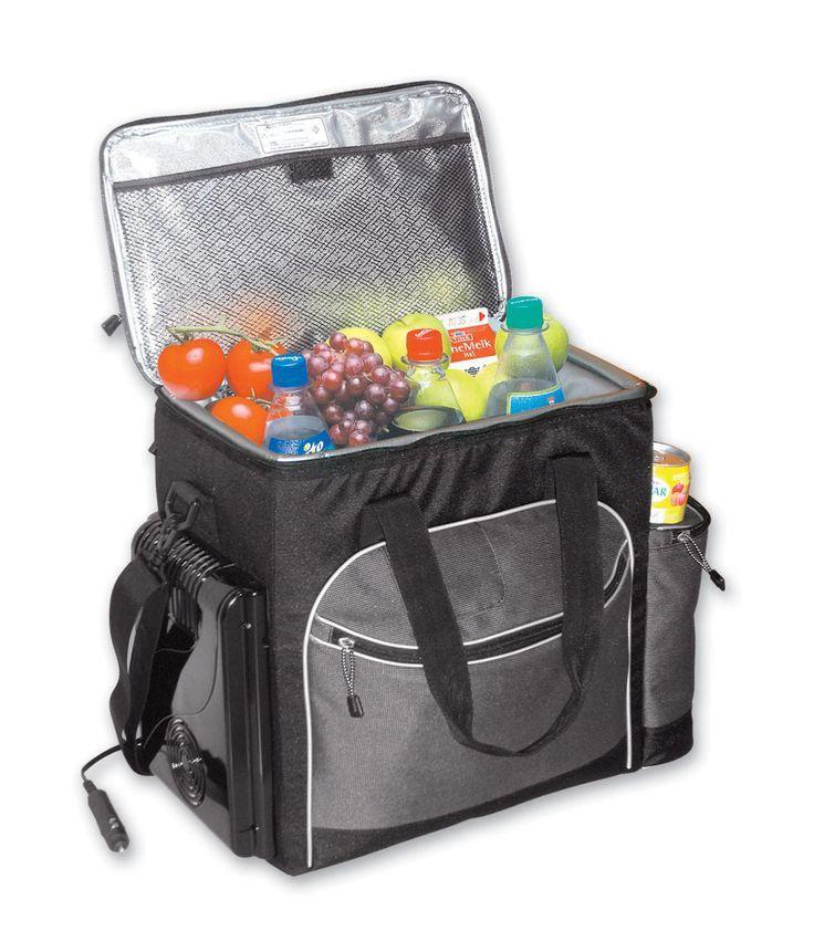 Plug In Cooler >> 6 Can Koolatron Soft Bag Picnic Cooler Plug In Cooler For Car