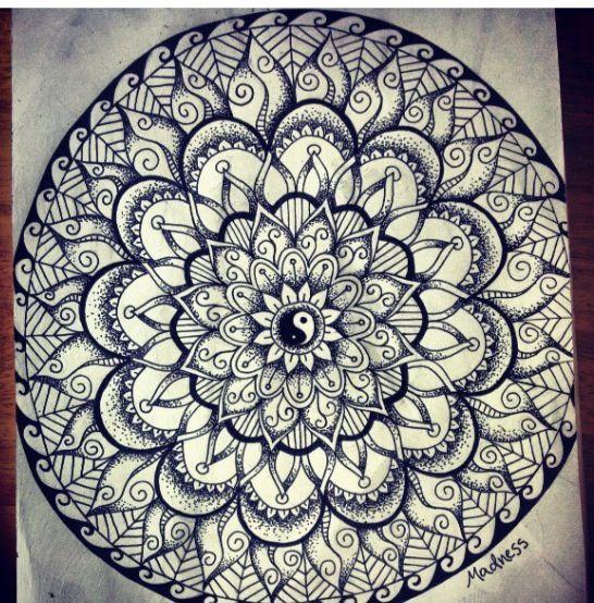 mandala yin yang tattoo - Google Search   tattoo   Pinterest ...