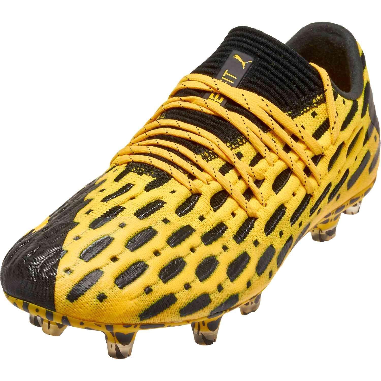 Puma Future 5 1 Low Fg Spark Pack In 2020 Puma Football Boots Puma Soccer Shoes