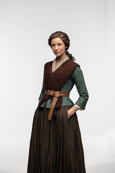 claire fraser (caitriona balfe) in outlander season 4 drums of
