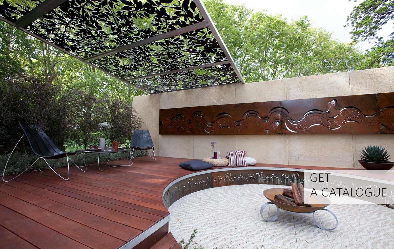 Metal Garden Art & Sculptures | Outdoor Metal Wall Art ...