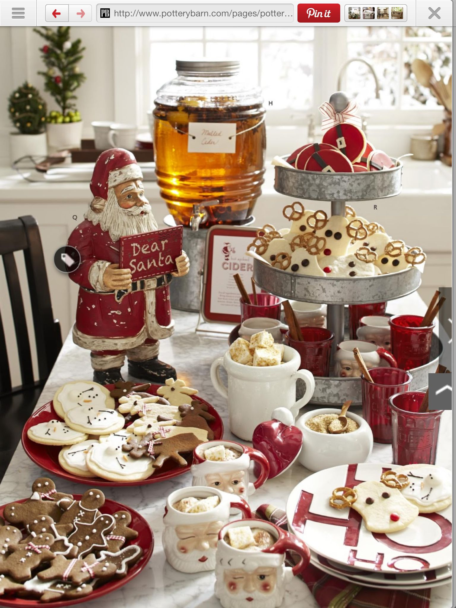 christmas tablescapes - Christmas Food Catalogs