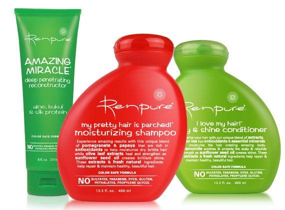 Renpure Shampoos Conditioners Natural Shampoo And Conditioner Good Shampoo And Conditioner Organic Hair Care