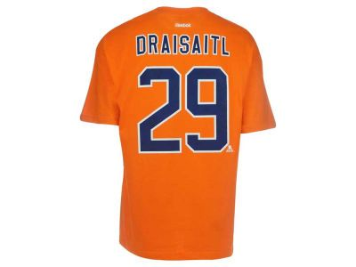 premium selection 8316e b898e Edmonton Oilers Leon Draisaitl Reebok NHL CN Player T-Shirt ...