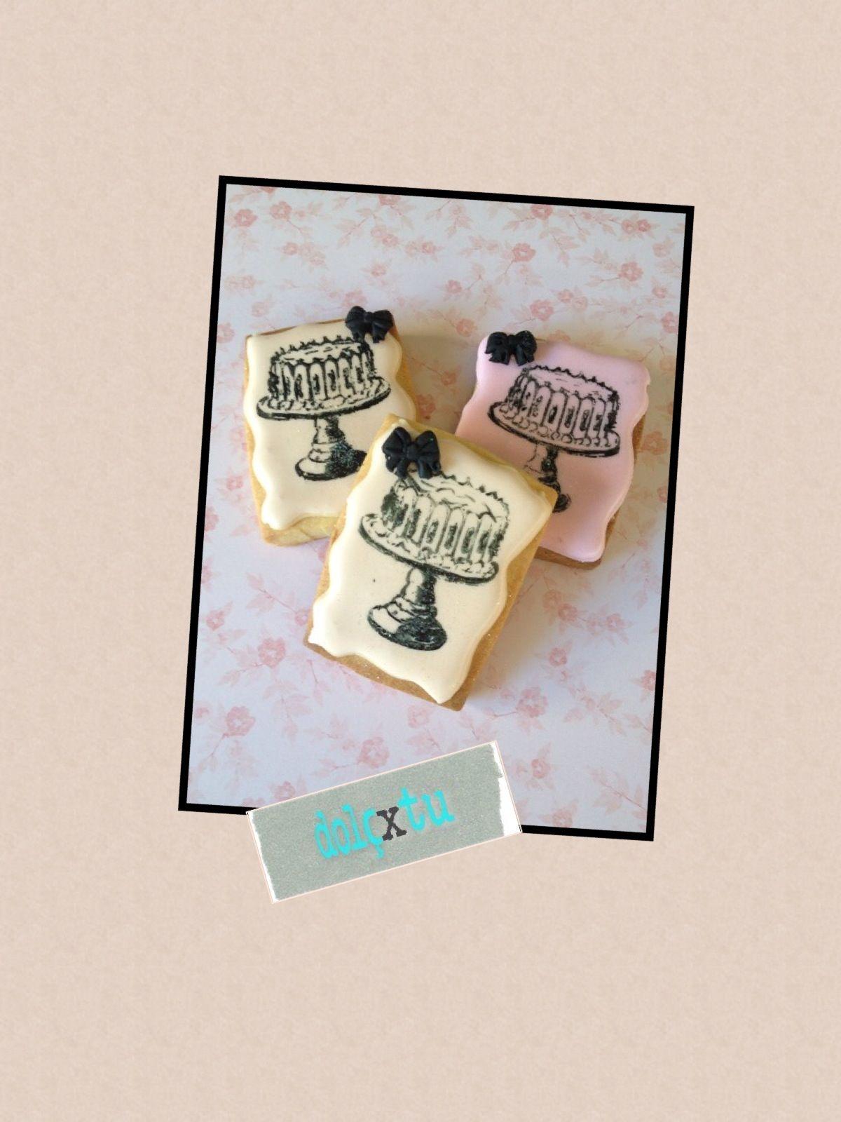 Vintage Cookie Decorated Cookies That I Love Pinterest Vintage