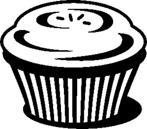 Muffin Chocolate Coloring Page | Chocolate, Chocolate ...
