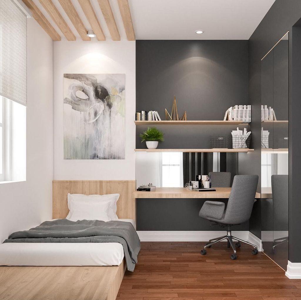 101 Masculine And Modern Man Bedroom Design Ideas Minimalist