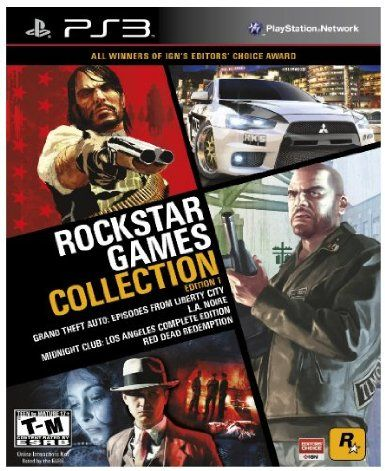 This Is One Of The Best Collections Of Games For The Ps3 All In One Package La Noir And Red Dead Redem Rockstar Games Latest Video Games Video Game Collection
