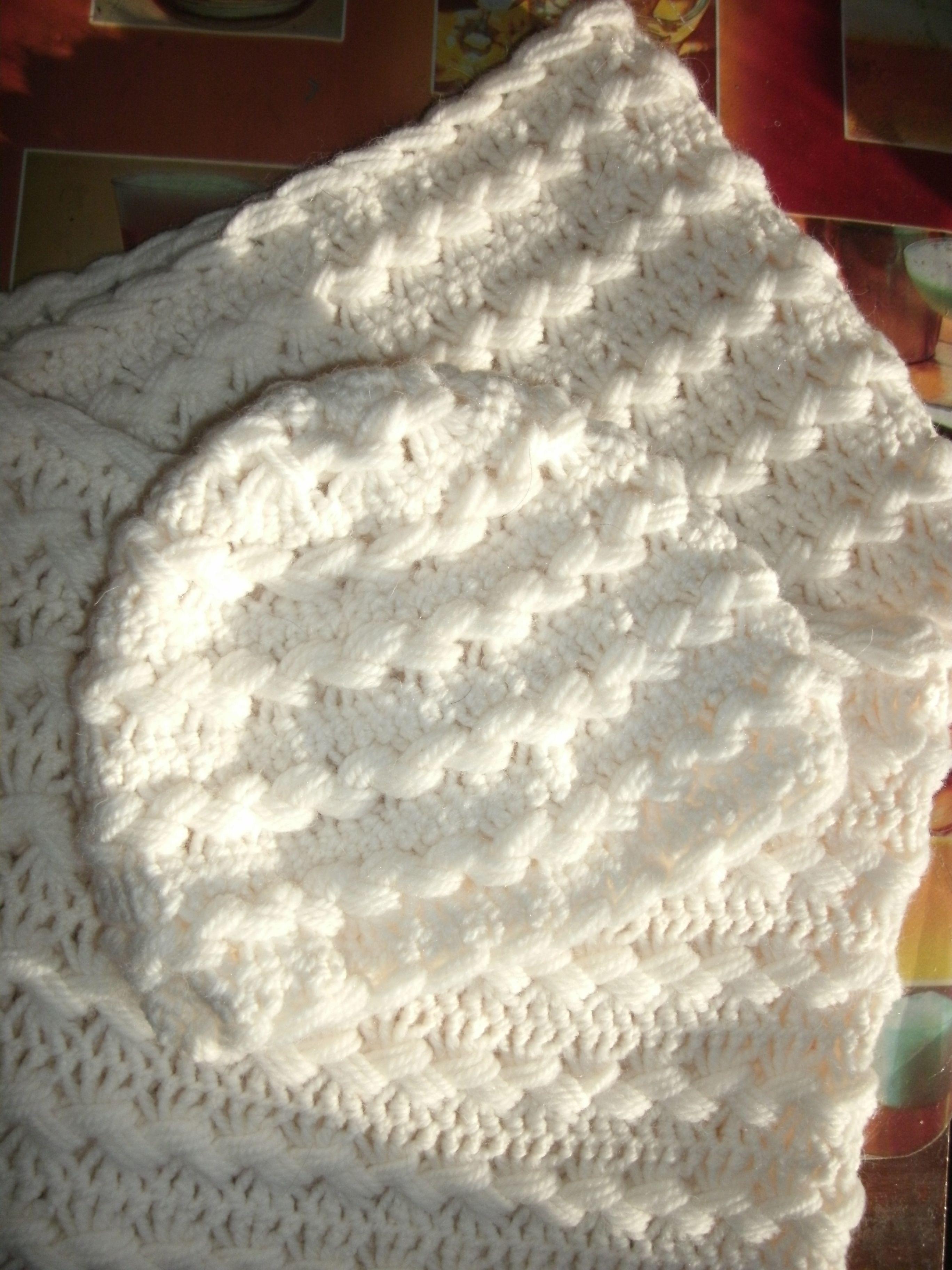 Шапочка и шарф-хомут связанные на вилке | Craft ideas | Pinterest