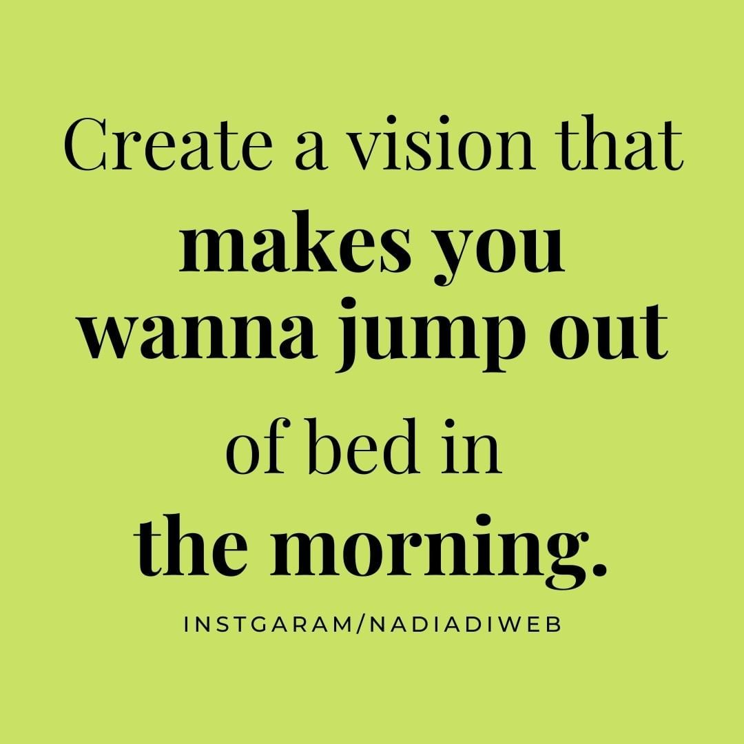 Vision Instagram business success quote. The Morning ...