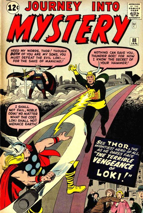 Journey into Mystery #88 (January 1963)  Thor's Day!